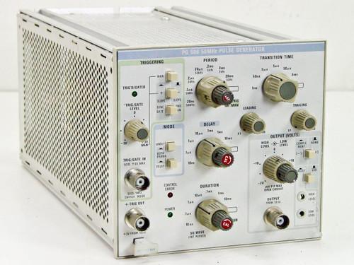 Tektronix PG-508  50MHz Pulse Generator Module