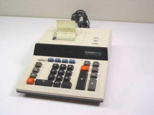 Casio DR-110S  Printing Calculator 240 volts ac