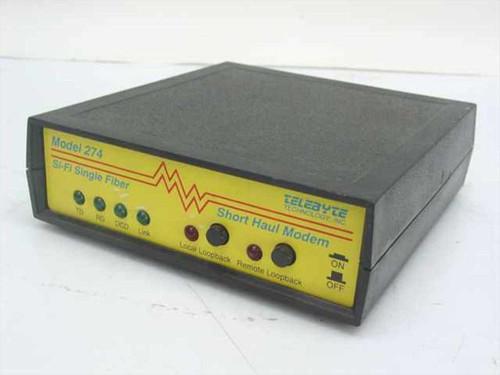 Telebyte 274  Si-Fi Single Fiber Short Haul Modem