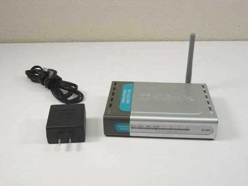 D-Link DI-524  4 Port 802.11g/2.4GHz Wireless Router