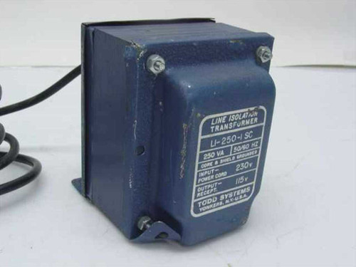 Todd Systems LI-250-I SC  Line Isolation transformer
