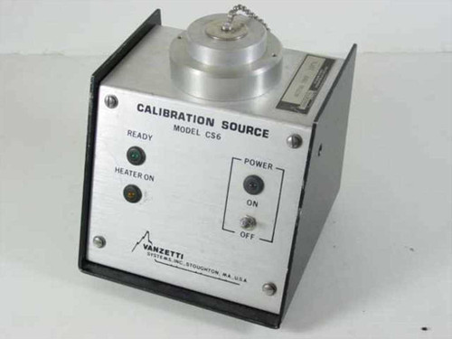 Vanzetti Systems CS6-1 D1510-1  Calibration Source