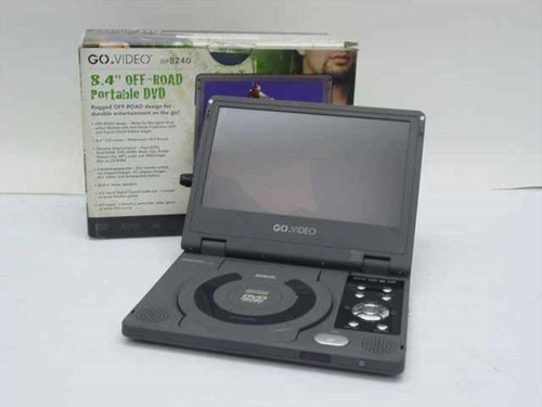 "Go Video DP8240  8.4"" Off-Road Portable DVD - Parts Unit"