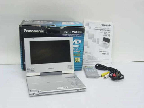 Panasonic DVD-LV70  Portable DVD/Video CD/CD Player - Broken LCD