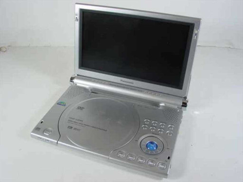 "Panasonic DVD-LA95  9"" Portable DVD Player for Parts Value"
