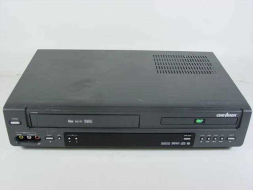 CineVision DVR2000A  DVD / VHS Player - As Is S-Video Port Inoperable