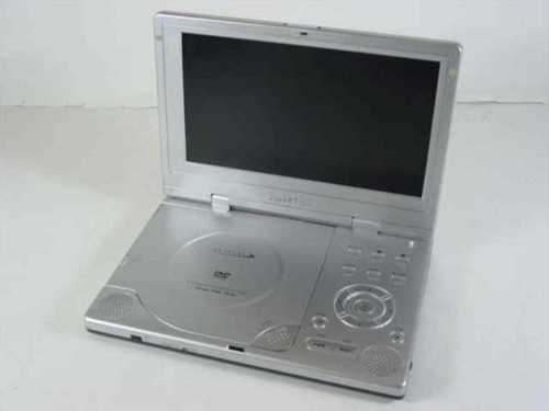 "Initial IDM-1810  8"" Portable DVD Player - As Is for Parts Value"