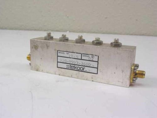 Telkoor 910-9997-3600  RF Microwave Filter