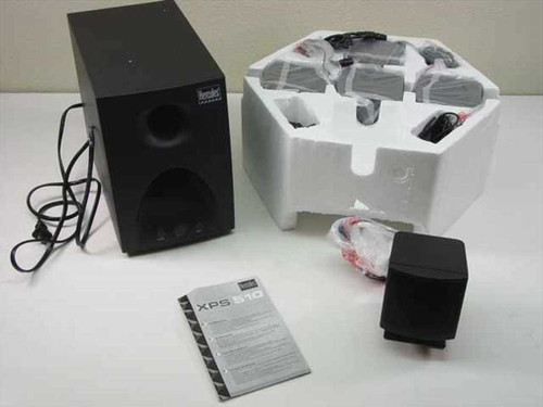Hercules XPS510  5.1 Surround Sound Speaker System in Box