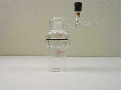 Kontes 855601  Sublimator Laboratory Glass Flask with 24/40