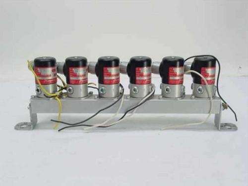 Humphrey TM-6  Pneumatic Supply Manifold and Valves