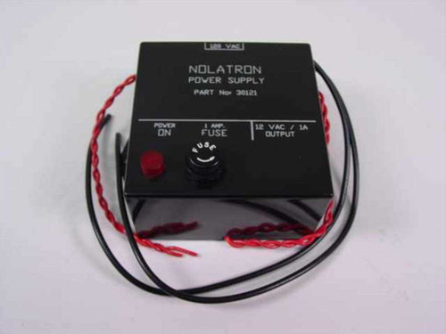 Nolatron 30121  Power Supply 12VAC 1 A Out