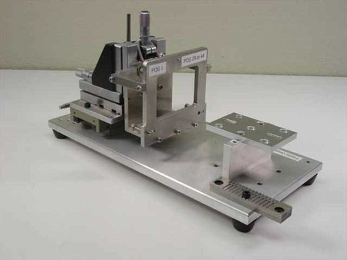 Applied Magnetics Custom  XYZ Stage w/ 3 Micrometers & Linear Ball Bearings