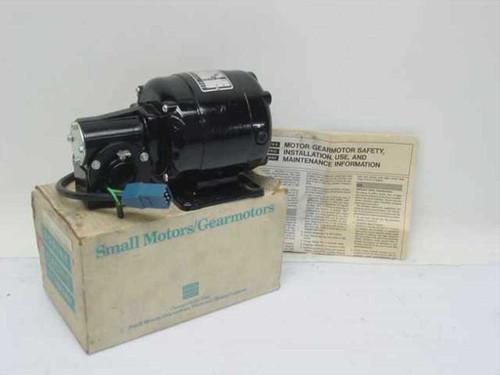Bodine Electric NSH-33R  Series 400 Control Motor 1/20HP 1725 RPM 20.0 Torq