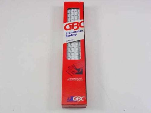 "GBC 4090013  5/16"" White Plastic Binding Combs - 25 pcs."