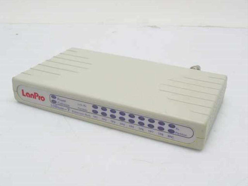LanPro Beige  10Base-T Ethernet Hub
