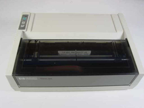 HP 2225P  ThinkJet Printer - Serial - As is for parts
