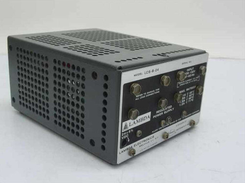 Lambda LCS-B-24  Regulated Power Supply 24 Volts 2.1 Amps
