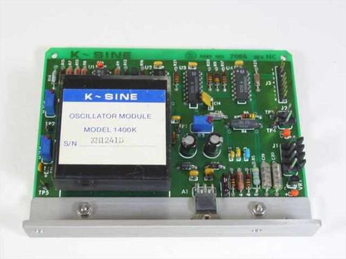 K-Sine 7086 1400K  Oscillator Module on PCB