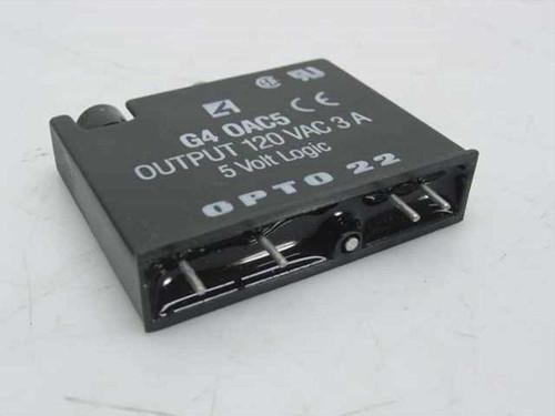 OPTO 22 OAC5  G4 DC Output, 120VAC 3A, 5VDC Logic