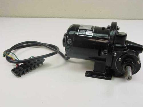 Bodine Electric NSH-12RG E10610186  Gear Motor 1/50HP 1726 RPM 43 Lb/In 1/6 RPM Ratio