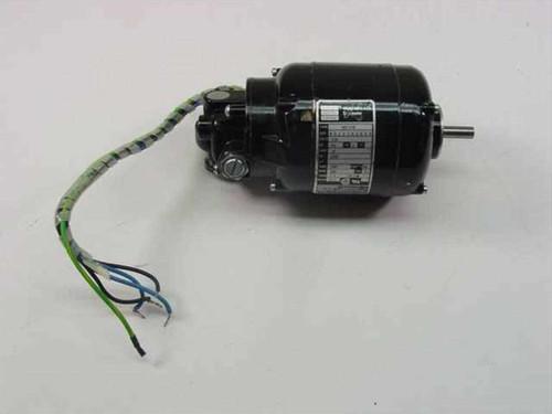 Bodine Electric NSI-12R  Gear Motor 1/70 HP 290 RPM 2.3 Torq Lb/In 6 1 Rati