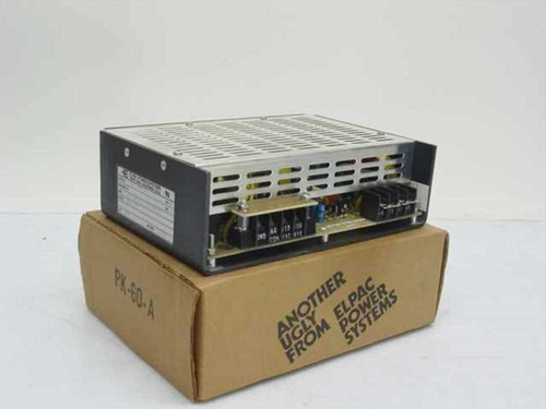 Elpac ES 100-24  Power Supply 115/230VAC 24V 4A