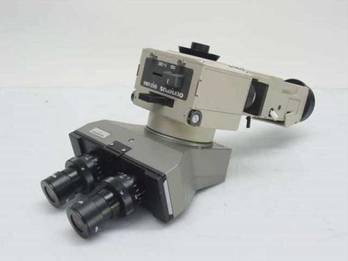 Olympus BH2-UMA   Microscope Attachment f180 with Binocular WHK 15XL