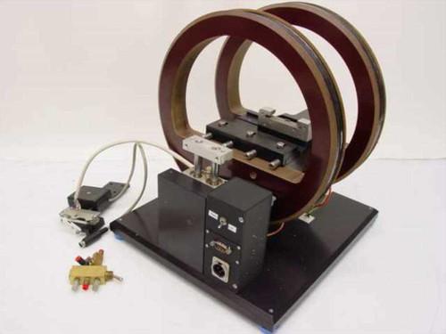 "Helmholtz Coils  Pair 10"" Circular Coils - Experimental."