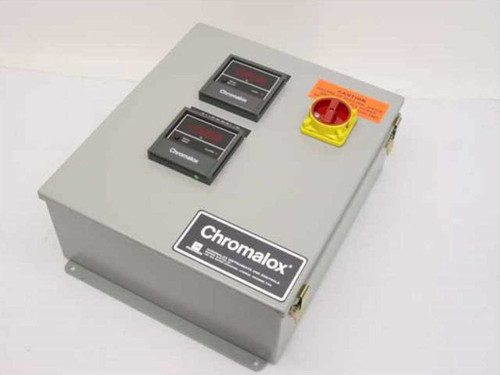 Chromalox 4472-60110  Mini Contactor Temperature Control Panel 75 Amp!