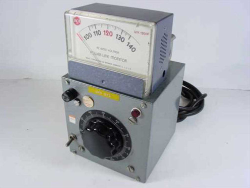 Variable Variac  RCA Powerline Monitor WV-120A 115 Volt AC Enclosed