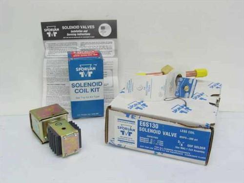 Sporlan MKC-1 E6S130  Solenoid Coil Assembly Junction Box & Valve