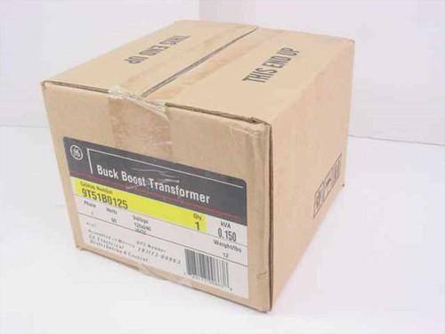 GE 9T51B0125  Buck Boost Transformer .15 KVA 120x240 Volts