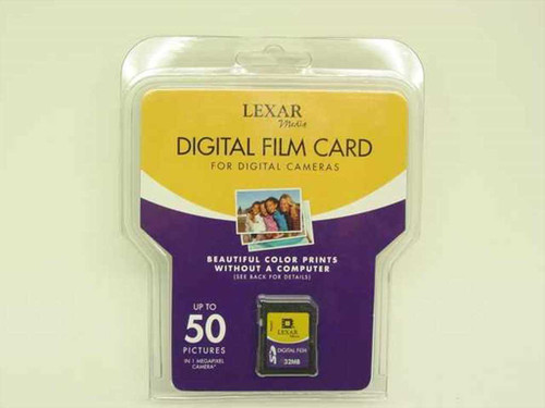 Lexar 32MB SD Secure Digital Film Card SD032-451