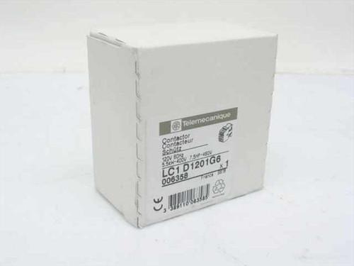 Telemecanique LC1-D1201G6  Contactor 120VAC 60HZ