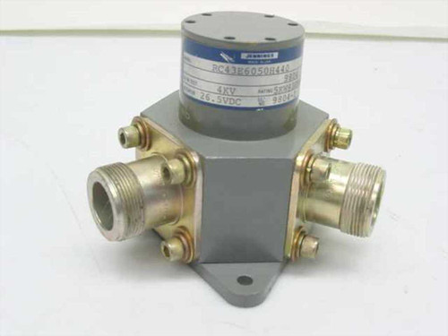 Jennings RC43E6050H440  SPDT Vacuum Coaxial Relay