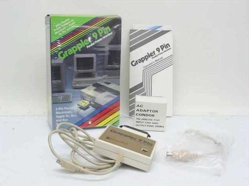 Orange Micro Grappler 9 Pin  Parallel Printer Interface for Macintosh/Apple II