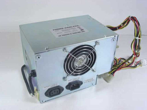 PC Power & Cooling Turbo-Cool 450  450W AT Power Supply