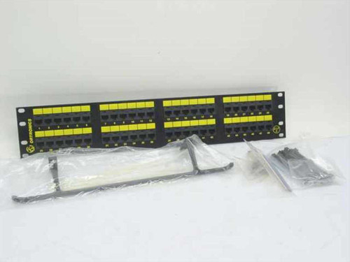 Ortronics OR-851004862  48 Port Patch Panel w/accessories