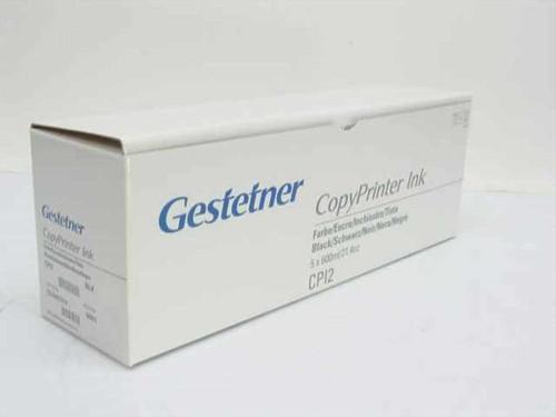 Gestetner CP12  CopyPrinter Ink - Box of 5