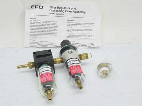 EFD 2000F256  Filter Regulator and Coalescing Filter Assembly