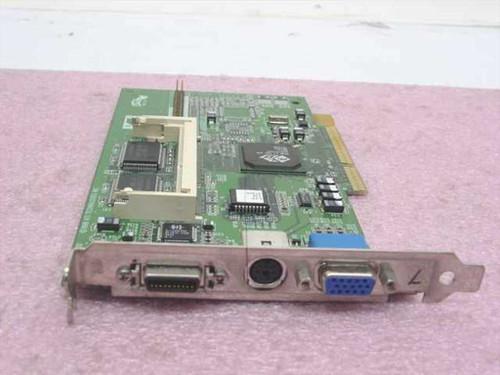 Compaq 334541-001  AGP Video Card ATI RAGE LT PRO 4MB RAM