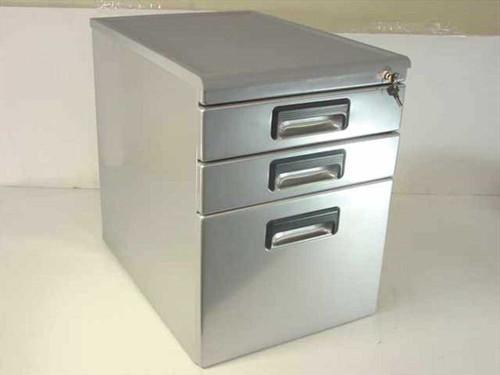 Studio RTA File Cabinet  Mobile, Locking 3 Drawer File Cabinet
