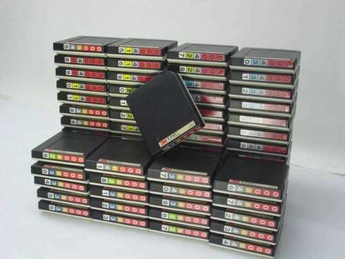 3M 3490E  Lot of 63 - E Cart Tape Cartridge 1100 Ft 36-Track