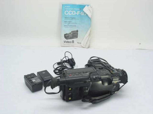 Sony CCD-F40  Video8 Video Camera Recorder - AS-IS