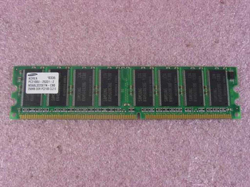 Samsung M368L3223ETN-CB0  256MB DDR266 PC2100 Desktop Memory