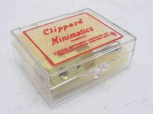 Clippard TV-3S  Minimatic Pneumatic Toggle Switch 8.0 SCFM