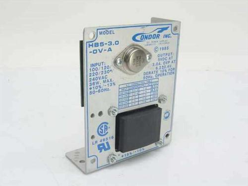 Condor HB5-3.0  Power Supply 5VDC 3.0A