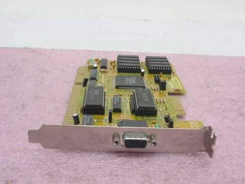 Trident HNG 8916CX248 LC2  ISA Video Card with Feature Connector