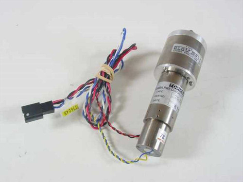 Chiba Precision TC-214005G BLG1/29.6  Tormax Geared DC Motor w. tacho - As Is